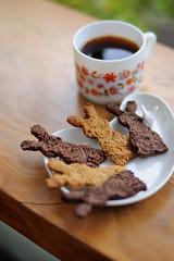 Rabbit cookies & coffee_ (extra_pics) Tags: food coffee japan nikon cookie sweets  okinawa japanesefood      okinawancuisine