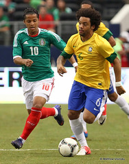 SOCCER:  JUNE 3 Brazil v Mexico (MattyV53) Tags: brazil usa sports sport arlington mexico football texas action soccer games gio marcelo eltri dossantos cowboysstadium giovanidossantos