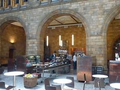 Natural History Museum London The Cafe (Tips For Travellers) Tags: travel london history ecology museum natural south kensington dinosaurs