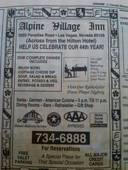 Alpine Village 1994 (frankasu03) Tags: las vegas restaurant 60s village retro alpine 80s 70s 50s 90s eateries