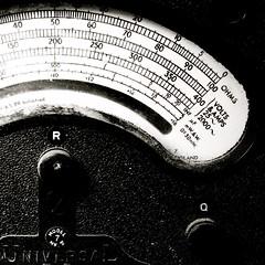 AVO Model 7 (David Comley) Tags: bw 120 trix hasselblad epson meter 500cm rollfilm trix400 v700 epsonv700 avomodel7