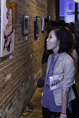 Attack of the  B-Movies, Animation Art Show (Gladstone Hotel) Tags: toronto illustration cartoon animation artshow queenwest cartoons gladstone tais surfrock bmovies animationart taafi melodybar carlizians