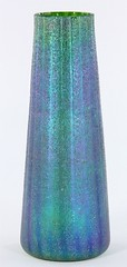 1032. attr. Loetz Tall Tapered Vase