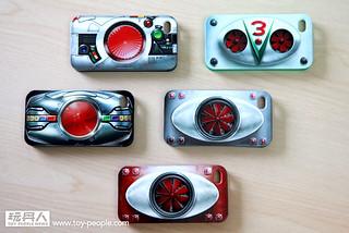 Kids Logic - 假面騎士立體腰帶造型iPhone 保護殼