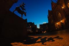 #27 - The Bremen Town Musicians (.pd33) Tags: shadow dog cat germany geotagged donkey cock hund katze bremen schatten deu fanta4 esel hahn fantasticfour fantavier diefantastischenvier week27 diebremerstadtmusikanten thebrementownmusicians club16 522012 geo:lat=5307625580 geo:lon=880792046