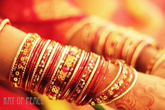 Traditional Asia (Ray of Peace: Landscape Fever) Tags: wedding pakistan glass canon happy asia pretty moments traditional wed 1855mm lovely tradition karachi bangles 500d