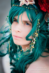 Katie Clark as Rydia (Final Fantasy IV) (wuyilei) Tags: london girl costume nikon cosplay may wig convention cosplayer excel rydia finalfantasy4 finalfantasyiv d90 londonmcmexpomay2012 mcmexpo2012 finalfantasyivi