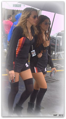 Le Mans Classic 2012 (Ian Peacock - Taking time out) Tags: wet promotiongirls oloneo hdrengine lemans2012