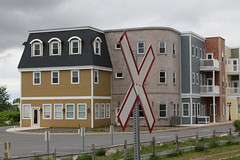 Wolfville, NS (Avard Woolaver) Tags: light canada colour topf25 rural photo spring flickr novascotia wolfville condos canondslr railroadcrossing digitalimage kingscounty sociallandscape topf25faves canoneos60d avardwoolaver avardwoolaverphoto june92012 shoteatshot startcafe2012