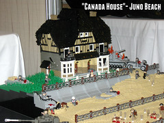 "Juno Beach- ""Canada House"" (""Rumrunner"") Tags: world 2 house canada beach war lego wwii canadian ww2 dday juno worldwar2 brickfete"