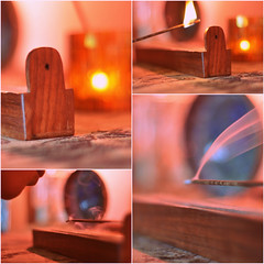 Incense (Flооd) Tags: collage flood smoke lips blow flame 365 incense scent floodie