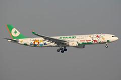 EVA Air | Airbus A330-300 | B-16331 | Hello Kitty livery | Hong Kong International (Dennis HKG) Tags: plane canon airplane hongkong airport eva hellokitty aircraft 1d airbus hkg a330 evaair planespotting cheklapkok airbusa330 100400 vhhh airbusa330300 07l b16331 a33030