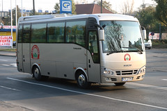 Krakow Tours KR-2225MG (Howard_Pulling) Tags: autumn bus fall buses canon photo coach october foto photos turquoise picture poland polska krakow cracow coaches mpk isuzu polski 2011 400d kr2225mg