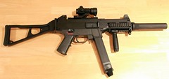 hk gun rifle machine pistol ump airsoft