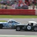 46 Mike Whitaker Snr: TVR Griffith (1965) passing 73 Chris Clarkson: Austin Healey 3000 (1958)