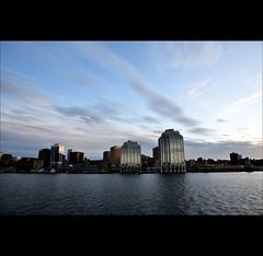 Halifax Waterfront (joeri-c) Tags: sunset canada water ferry architecture nikon novascotia waterfront gimp casino nikkor halifax modernarchitecture purdyswharf digikam 1685 halifaxwaterfront d5000 1685mm nikkor1685 nikkor1685mm casinohalifax nikond5000