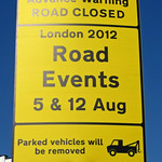 UK Traffic Sign: Road Events