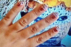 Unhas 16: Estampa Tribal (nannabueno) Tags: tribal 31 unhas desafio