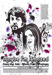 Maybe I'm Amazed_Poster (Alain Mesa) Tags: music illustration poster graphicdesign paulmccartney maybeimamazed talenthouse