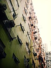 built (Fion N.) Tags: life city urban building home hongkong living cityscape   residential  hongkongisland  kennedytown   siwan  gf1    panasoniclumixgf1