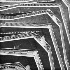 sliced (Thomas Leth-Olsen) Tags: bw lines architecture floors terrasse monaco slices stacked