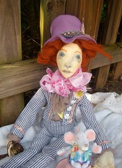 The Mad Hatter (Jordan Taylor - The Free Folk) Tags: art doll artist artdoll aliceinwonderland clothdoll themadhatter themadteaparty