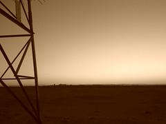 من بداياتي (صهيب العنزي) Tags: بر غروب صحراء اتصال عاديه