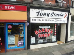 Barber Shop - Penny Lane,Liverpool. (Man Of Green) Tags: music history shop liverpool song location barbershop lane barber beatles thebeatles pennylane beatlessong beatlessongs tonyslavin 2penny pennylanethebeatles thebeatlespennylane pennylanebarbershoplocation beatlessongslocations inpennylanethebarberservesanothercustomer thebarbersshoppennylane