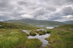 Loch Neldriken # Explore (Mark McKie) Tags: water clouds scotland nikon day cloudy hills loch galloway godscountry cloudyday d90 glentrool gallowayhills wigtownshire craignaw nikond90 lochneldricken dungeonrange buchanridge thescottishlowlands 1686mmnikon blagrass