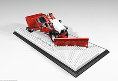 belos_01 (pehter aka ibbe) Tags: tractor lego gravely mocs lawnmover belos