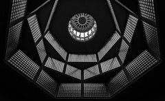 Gemaldegalerie, Berlin. (Massimo Cuomo Photography) Tags: gemaldegalerie berlin bw massimo cuomo photography architecture interior building museum germany lookinup symmetry