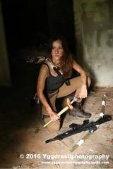 Tomb Raider Shoot with Annick 31 (berserker244) Tags: yggdrasilphotography60072016 guerrillaphotography yggdrasilphotography evandijk annick annickscosplay laracroft tombraider riseofthetombraider grebbeberg rhenen