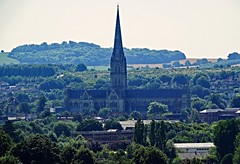 salisbury cathedral (Nick.Bayes) Tags: salisbury cathedral from old sarum