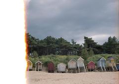 (Gemma A Photo) Tags: sea beach beachhut wellsnextthesea film analog analogue 35mm norwich norfolk vivitar fujifilm superia adventure travel coast filmburn istillshootfilm filmisnotdead filmphotography