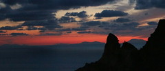 Eolie sunset (luke66.man) Tags: capovaticano calabria eolie tramonto sunset
