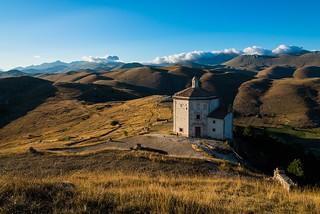 rocca calascio, chiesa santa maria della pietà