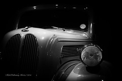 Ford Anglia (rhfo2o - rick hathaway photography) Tags: rhfo2o canon canoneos7d beaulieu beaulieumotormuseum hampshire anglia ford fordanglia bw blackandwhite mono