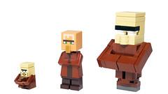 LEGO Minecraft Villagers (BRICK 101) Tags: lego minecraft