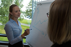 Kokoustajat Scandic Kuopiossa (VisitLakeland) Tags: scandic hotel meeting kokous nainen woman women naiset business ty work jrvi lake scenery jrvimaisema maisema