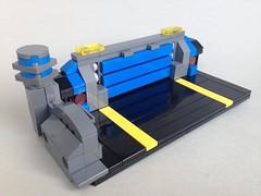 Blue Bay (TenorPenny) Tags: lego microscale microspace dock bay landing pad