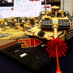 Woohoo! (ABS Defence Systems) Tags: mbt tank leopard2a6mcan lego beyondthebrick
