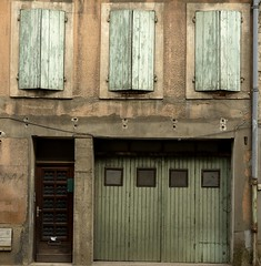 Residence (Tony Tooth) Tags: nikon d7100 nikkor 18105mm building dilapidated dilapidation house apartment shutters windows doors moissac cahors france