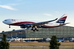 ArikAir_A332_5NJID_LHR (Yannick VP) Tags: airbus a330 arikair airlines nigeria london heathrow airport egll lhr august 2016 thistlehotel 09l