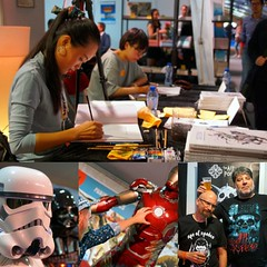 It is so very hot amongst all the crazy people at #brusselscomicfestival #fetedelabdbruxelles #stripfeestbrussel   #zaodao #starwars #501stlegion #stormtrooper #davidp #ironman  #alainponcelet #visitbrussels #Brussels #Bruxelles #Brussel #comicfestivalbru (Red Cathedral [FB theRealRedCathedral ]) Tags: instagramapp square squareformat iphoneography uploaded:by=instagram brusselscomicfestival fetedelabdbruxelles stripfeestbrussel zaodao starwars 501stlegion stormtrooper davidp ironman alainponcelet visitbrussels brussels bruxelles brussel comicfestivalbrussels chinesecomic