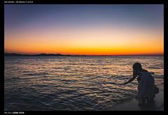 Sunset, Sea, & Silhouette (Falcdragon) Tags: sonyrx100mk128100mmf1849 1 croatia holiday europe sunset compact silhouette sea zadar