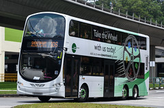 Tower Transit Singapore Volvo B9TL Wright Eclipse Gemini II (nighteye) Tags: towertransitsingapore tts volvo b9tl wright eclipse geminiii eurov sg5000e service106 takethewheelwithustoday singapore bus