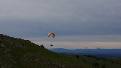 Johno5 (overflow50) Tags: canberra paragliding paraglider spring springhill sky clouds