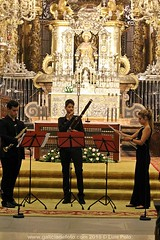 Dúo Nannerl, Anxo y Estrela Fernández con Diego Basadre