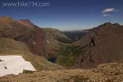 """Boulder Creek Valley from Siyeh Pass • <a style=""""font-size:0.8em;"""" href=""""https://www.flickr.com/photos/63501323@N07/6961723190/"""" target=""""_blank"""">View on Flickr</a>"""