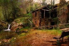 El Pozo Mouro (Geli-L) Tags: textura asturias molino cascada arbon villayon bestcapturesaoi blinkagain pozomouro